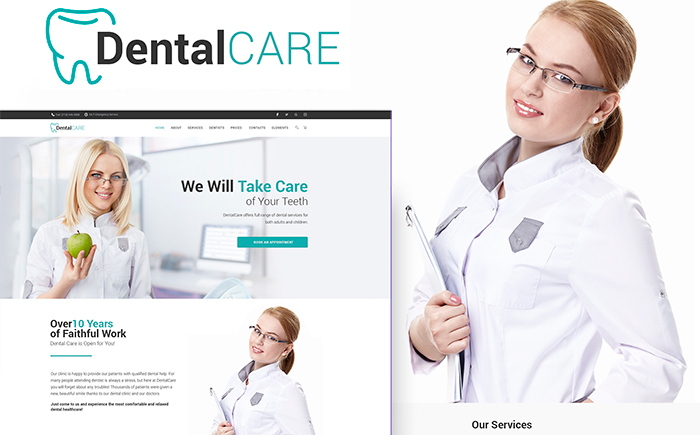 Theme WordPress pour clinique dentaire
