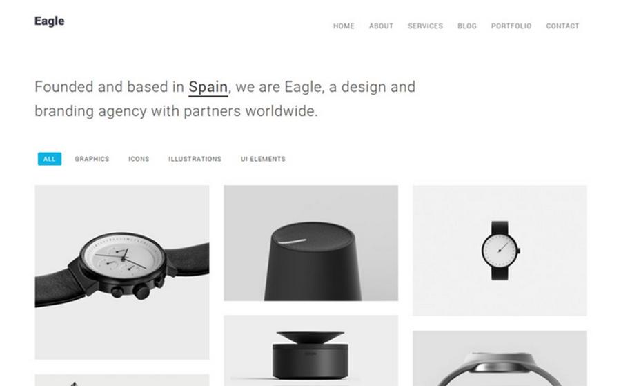 Eagle: tema WordPress facile da usare e minimalista