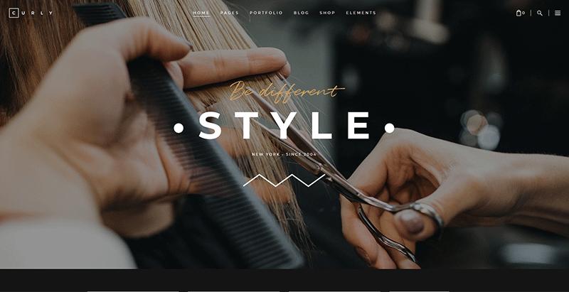 meilleursthèmes WordPress de salon de coiffure pour créer un site Web
