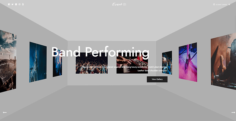Gerahmte Themen WordPress erstellen Website-Portfolio Kreativagentur