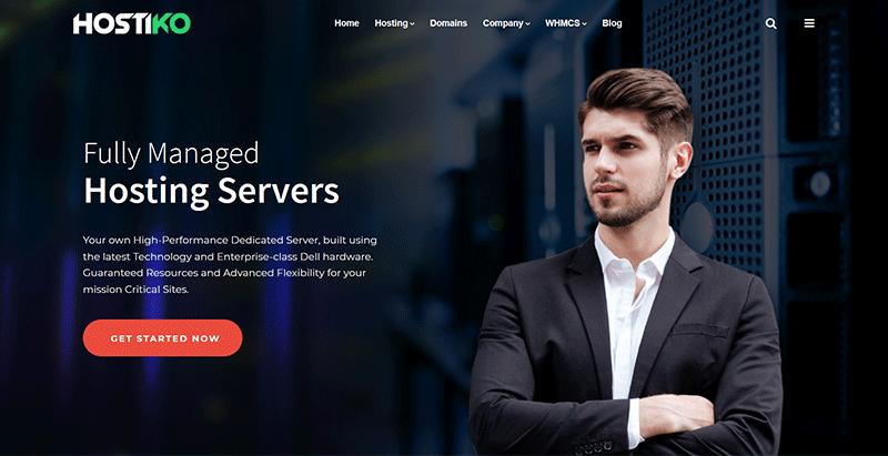 Hostiko themes wordpress creer site web entreprise hebergement hosting