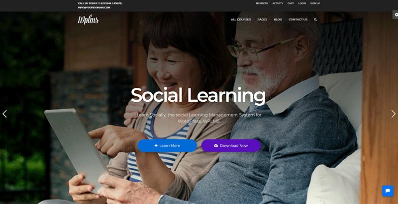 Wplms themes wordpress creer site web ecoles de formation