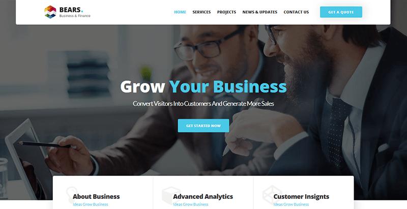 Temas de 10 WordPress para crear un sitio web comercial   BlogPasCher