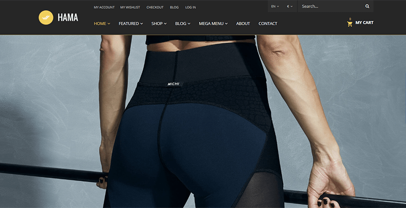 Hama themes wordpress creer site web e commerce