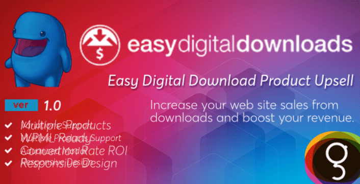 Product upsells plugins easy digital downloads boutique ligne telechargements numerique