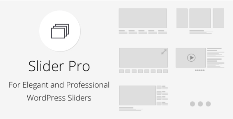 meilleurs plugins WordPress - Slider pro