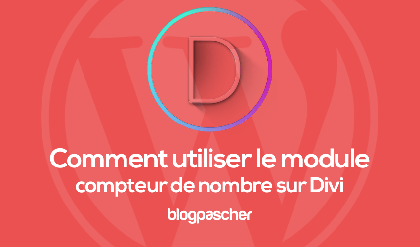 How to use the number counter mod on divi