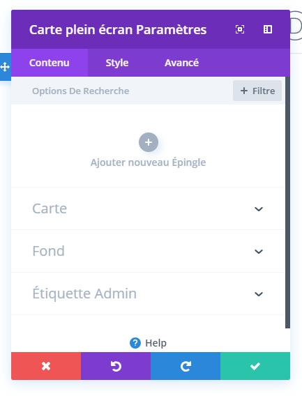 opção conteúdo divi builder full width map module.png