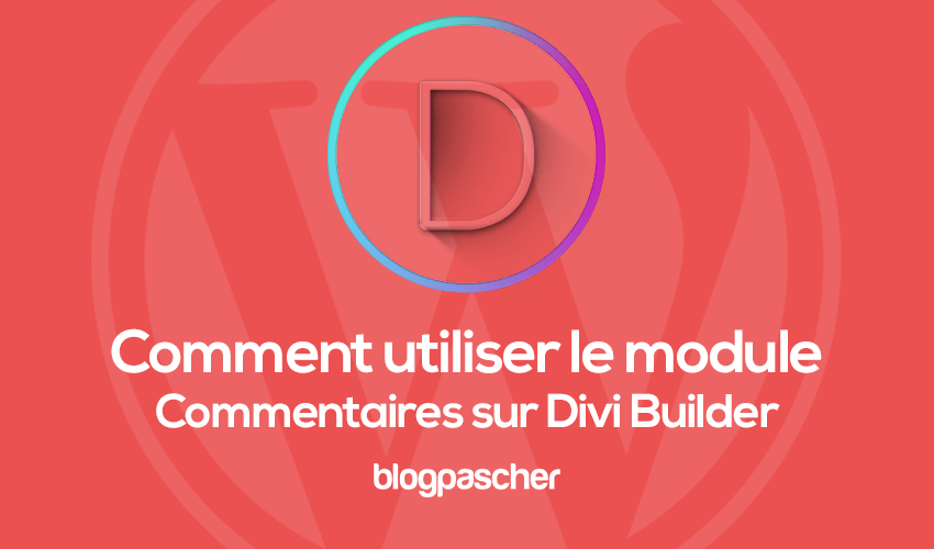 How to use the comment module on divi