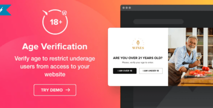Age verification plugin for wordpress