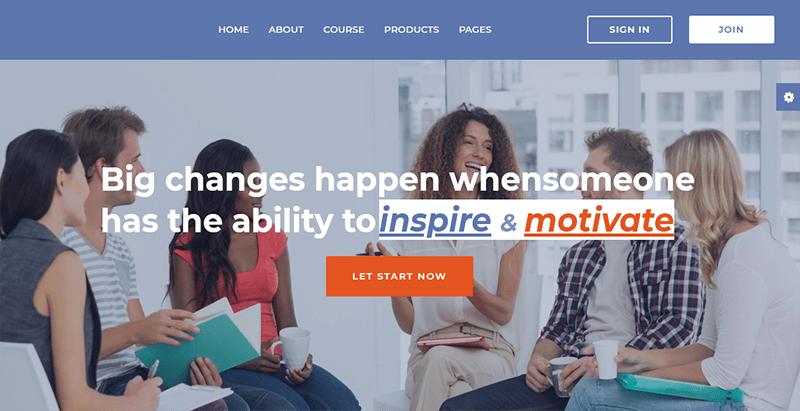 Educhain theme wordpress creer site web education
