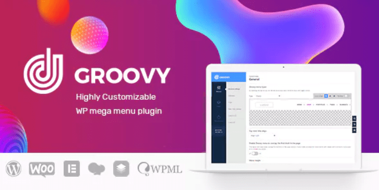 Groovy Menu WordPress Mega Menu Plugin