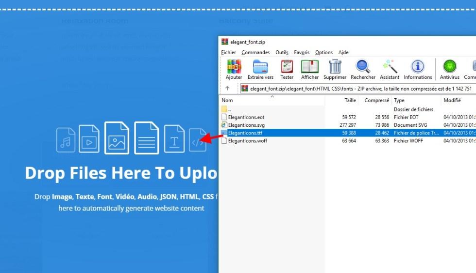 extrair o arquivo zip divi.jpg