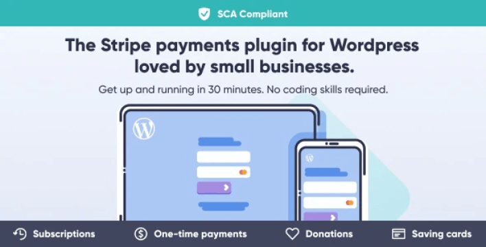 Wp full stripe subscription and payment wordpress plugin