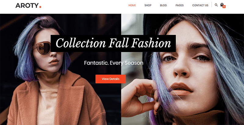 Aroty theme wordpress creer site web e commerce