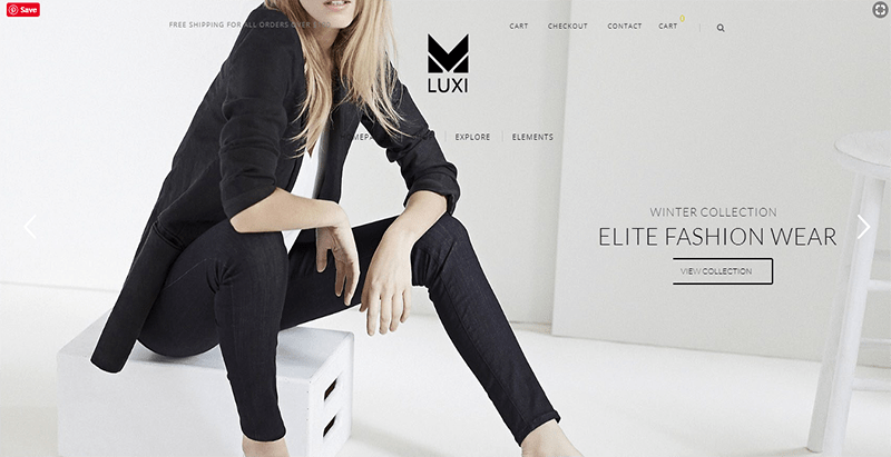 Luxi theme wordpress creer site web e commerce