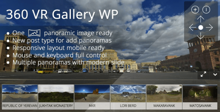 360 vr gallery wp plugin wordpress