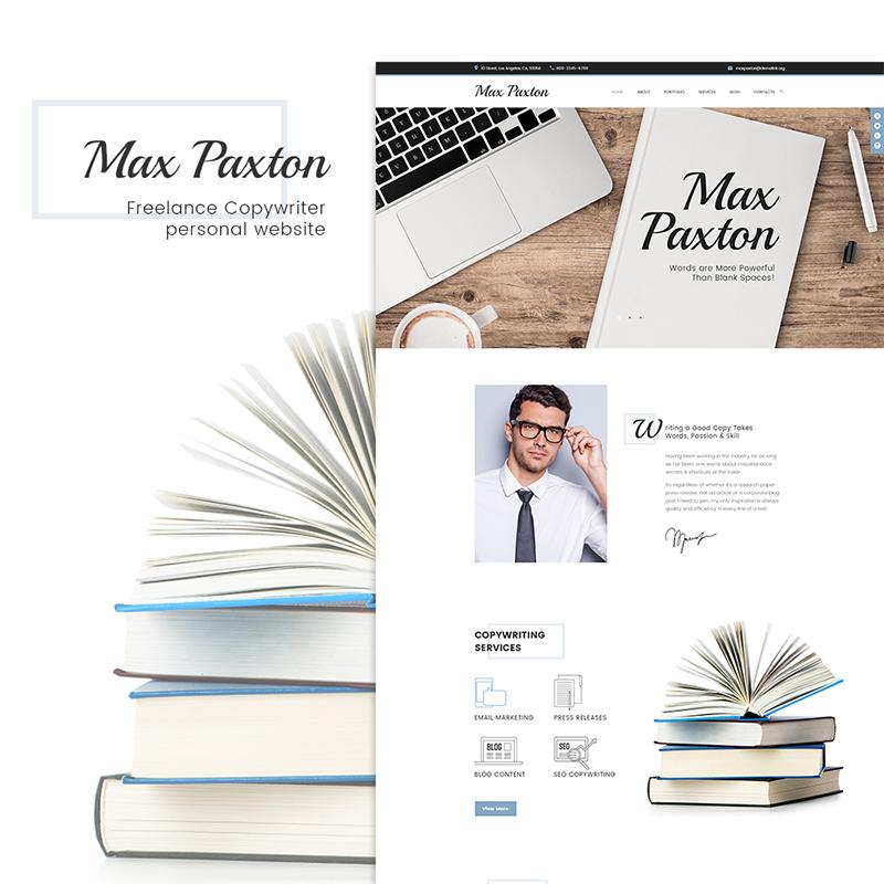 Tema de WordPress para la página de perfil personal