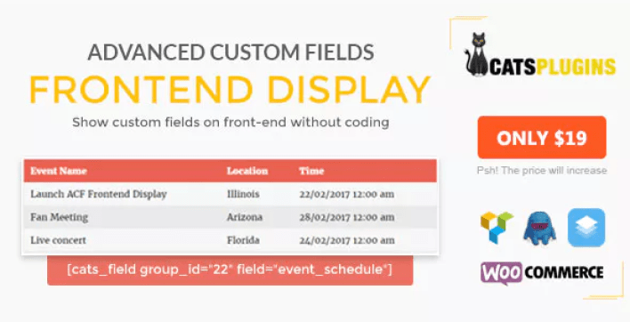 Acf frontend display plugin wordpess