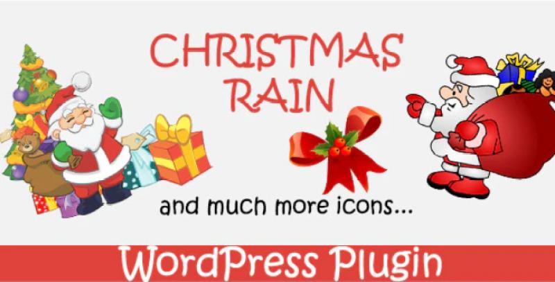 Christmas rain christmas plugin for wordpressn