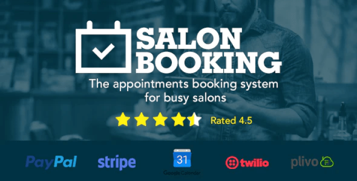Salon booking wordpress plugin 1
