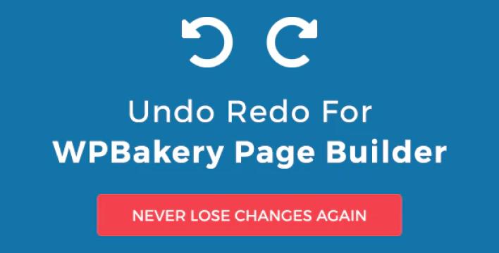 Undo redo for wpbakery page builder plugin wordpress