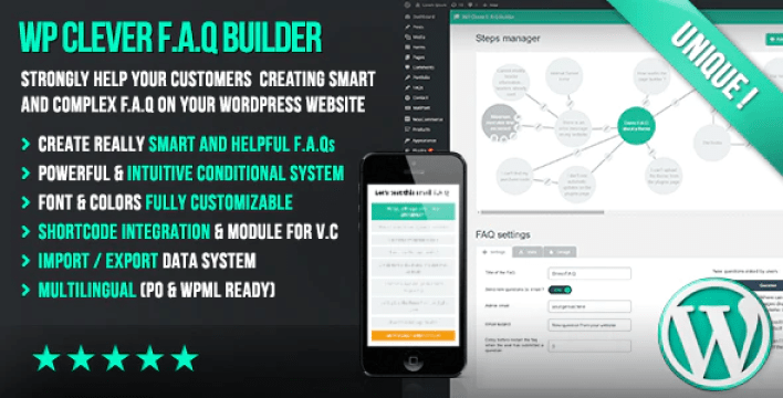 Wp clever faq builder smart support tool for wordpress plugin