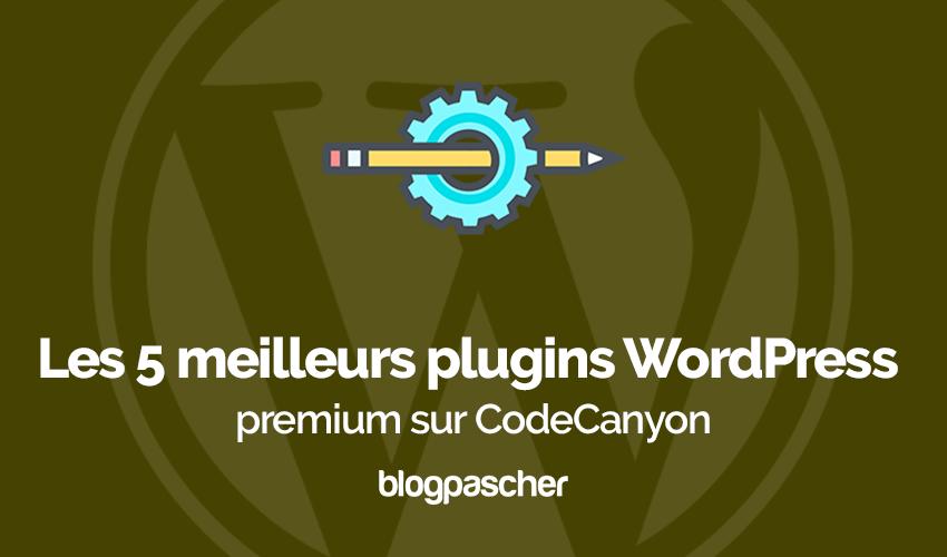 Meilleurs Plugins Wordpress Codecanyon