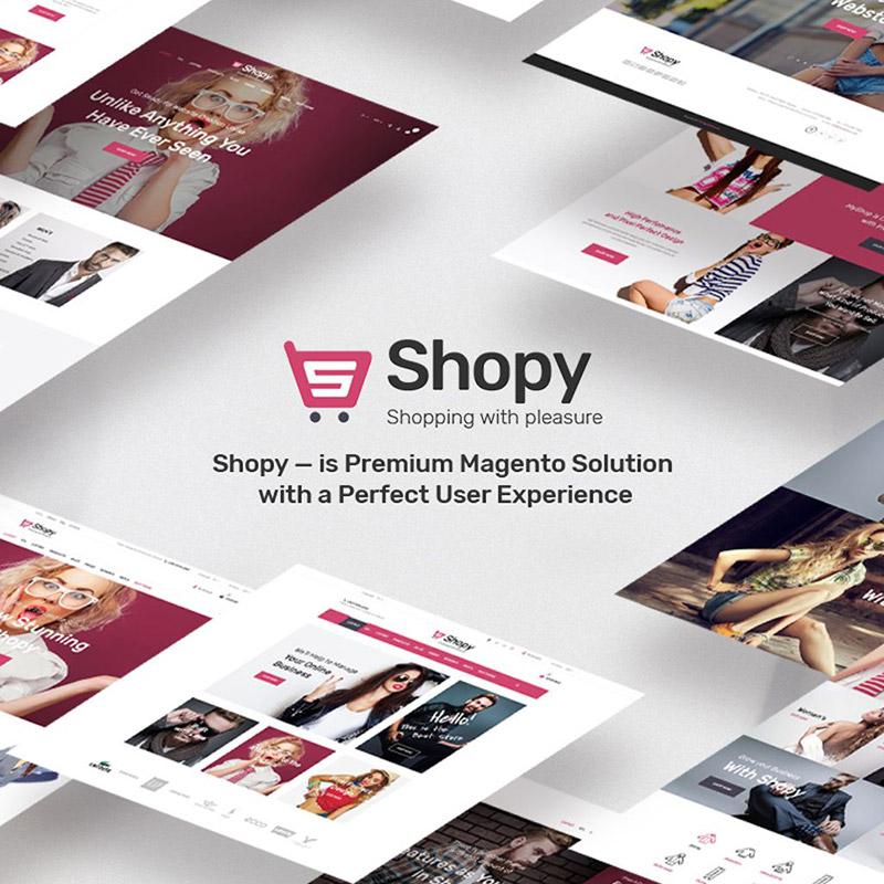 Shopy – thème Magento pour boutique de mode