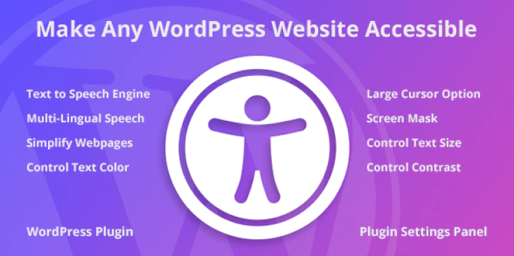 Accessibility wordpress plugin
