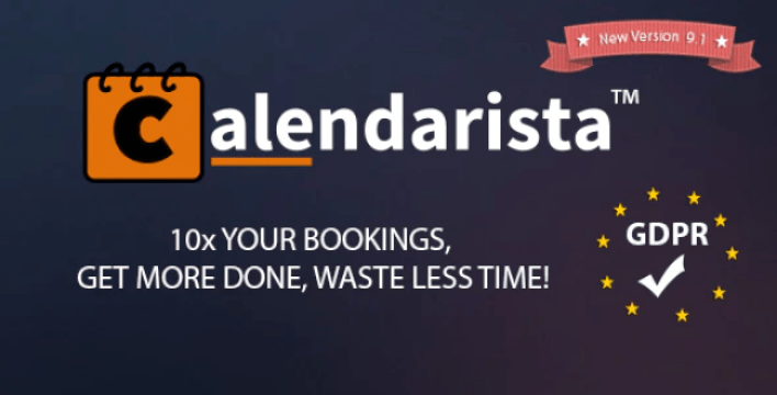 plugins WordPress de réservation - Calendarista