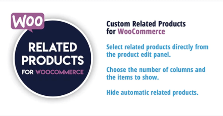 Custom related products for woocommerce plugin wordpress