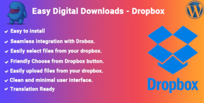 Easy digital downloads dropbox by wpeliteplugins codecanyon
