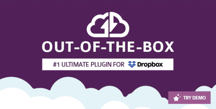 Out of the box dropbox plugin for wordpress