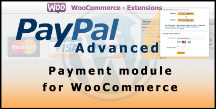 Paypal advanced payment gateway for woocommerce plugin wordpress 1