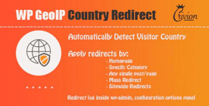 Wp geoip country redirect plugin wordpress