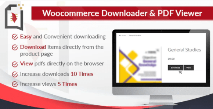 Woocommerce downloader and pdf viewer plugin wordpress