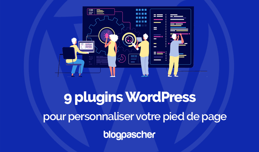 Plugins wordpress personnaliser pied de page