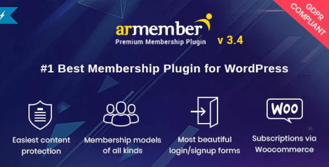 Armember wordpress membership plugin wordpress