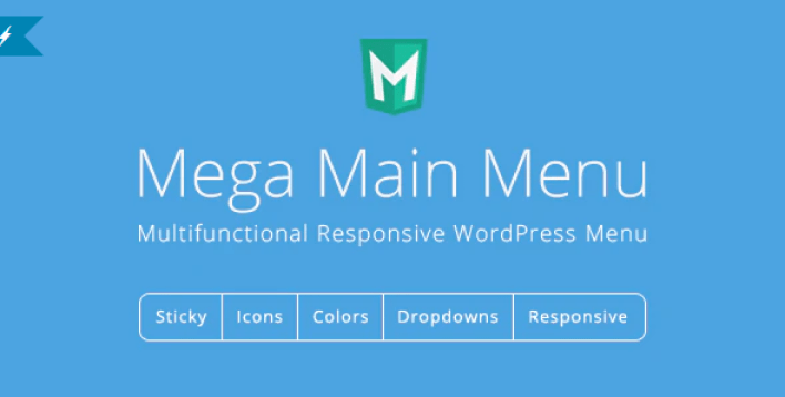 Mega main menu wordpress menu plugin wordpress