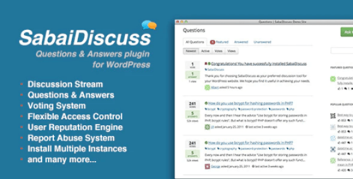 Sabai discuss plugin for wordpress plugin