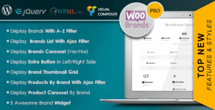 Woocommerce brands plugin wordpress