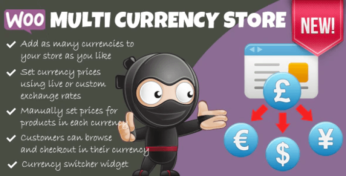 Woocommerce multi currency store plugin wordpress