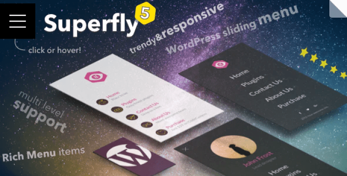 Wordpress menu plugin — superfly responsive menu plugin wordpress