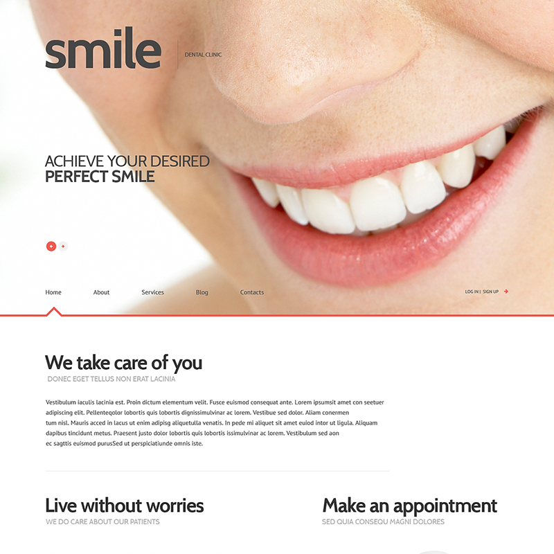 Tema WordPress Responsif Kedokteran Gigi