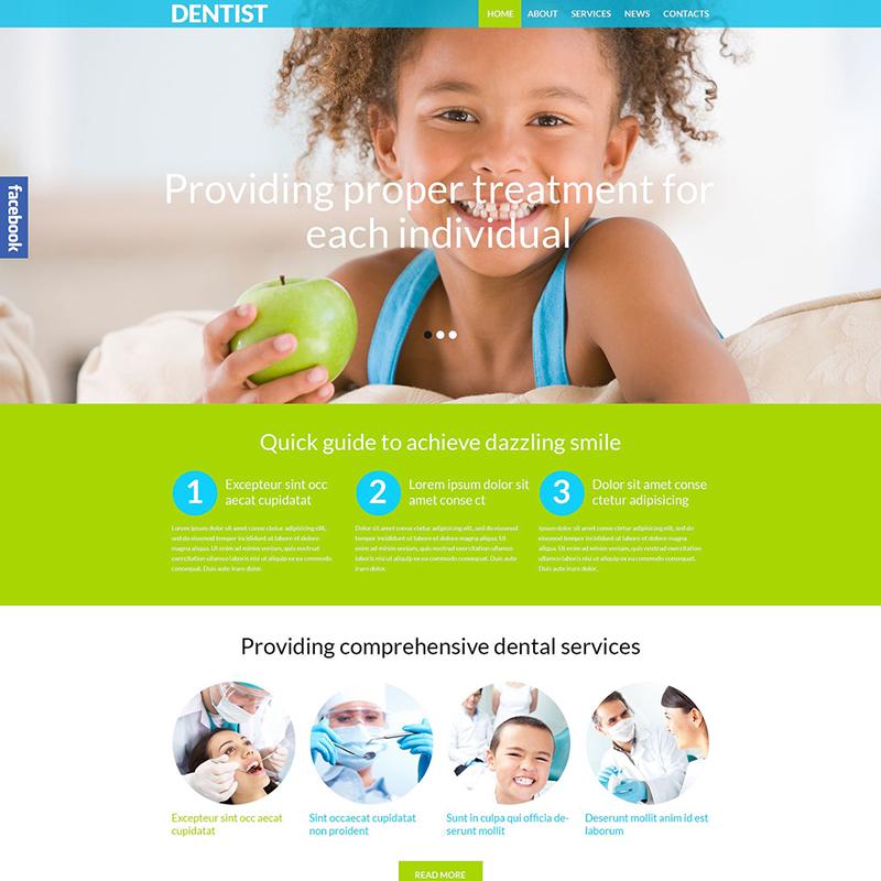 Tema Klinik Gigi WordPress