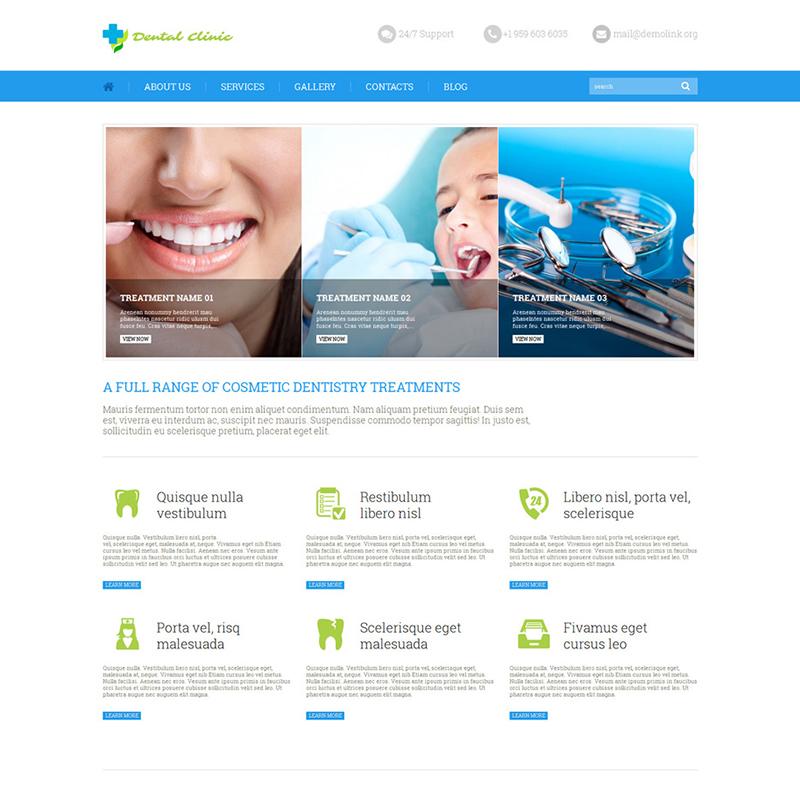 Стоматологическая клиника WordPress Theme