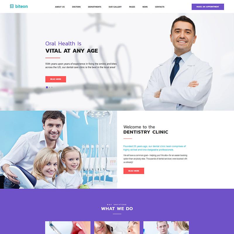 Orthodontist WordPress Theme