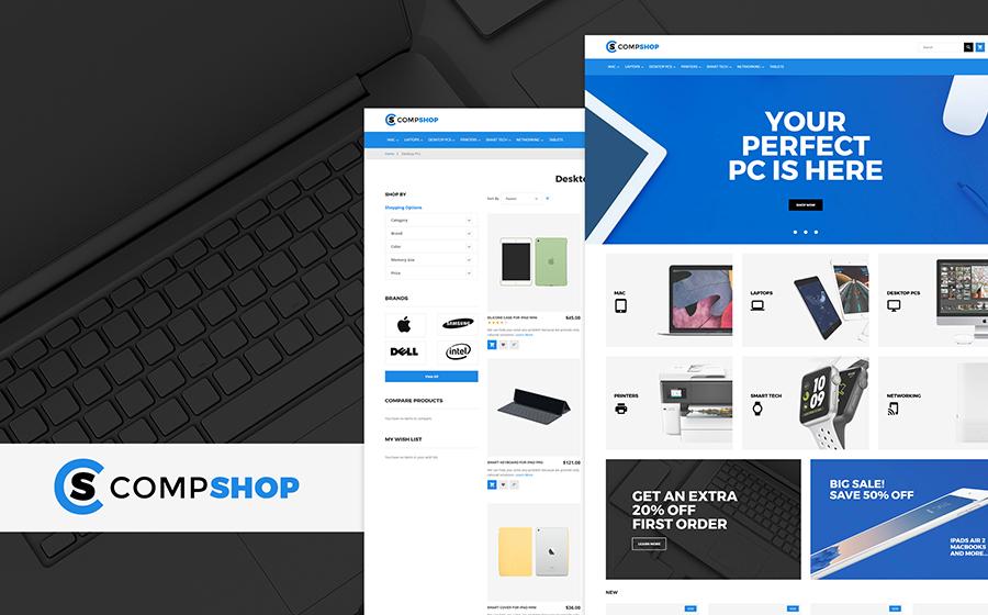 CompShop – Magasin d'informatique