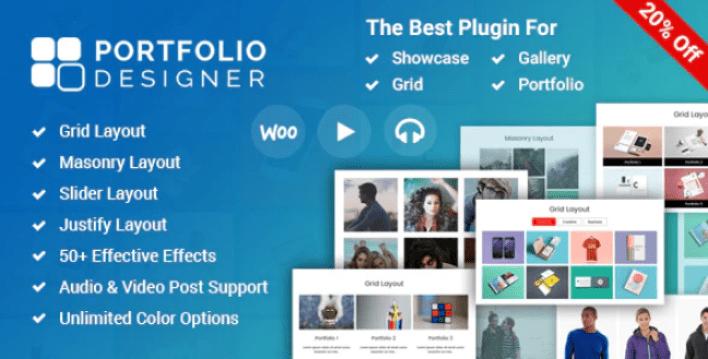 Portfolio designer wordpress portfolio plugin wordpress 2